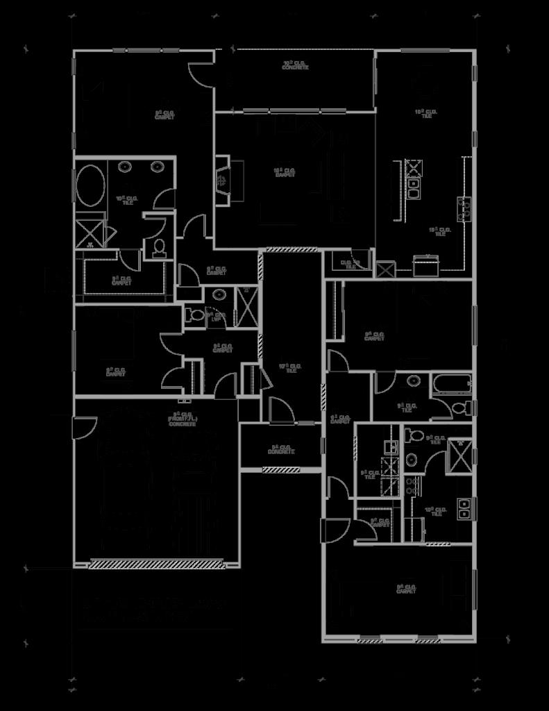 2607 Casita Floor Plan