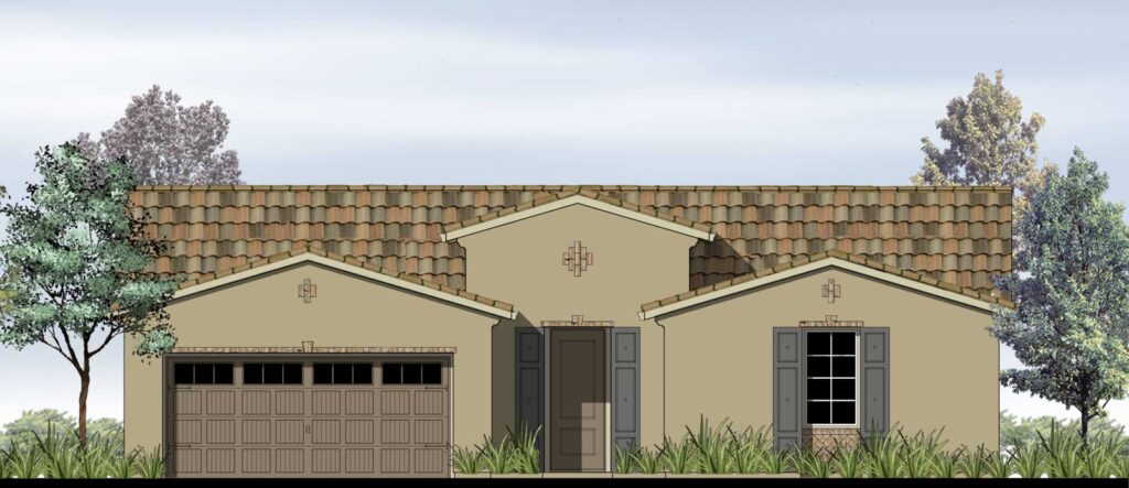 Lusso Rustic Elevation