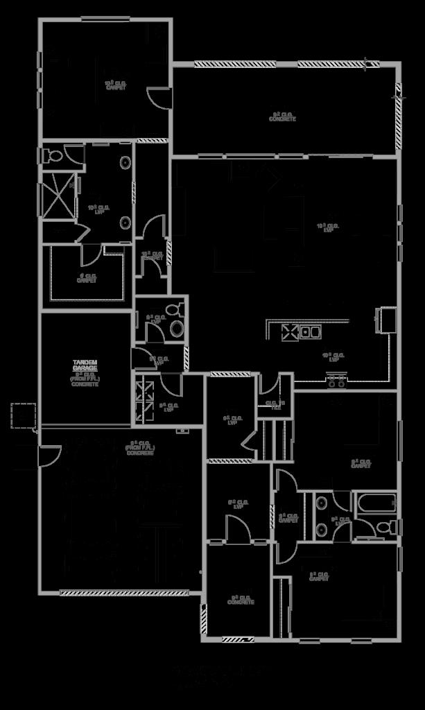 Cortona Floor Plan 2155