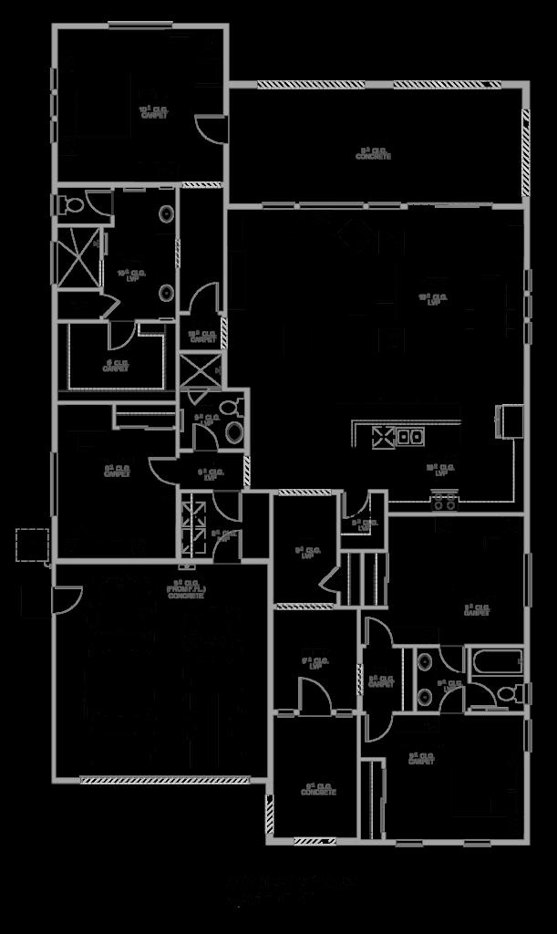 Cortona Floor Plan 2357